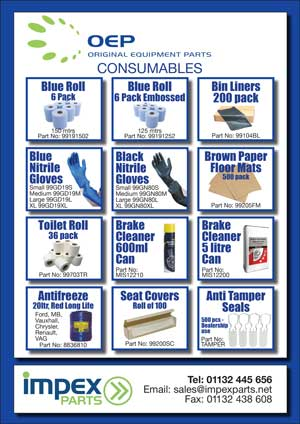New OEP consumables